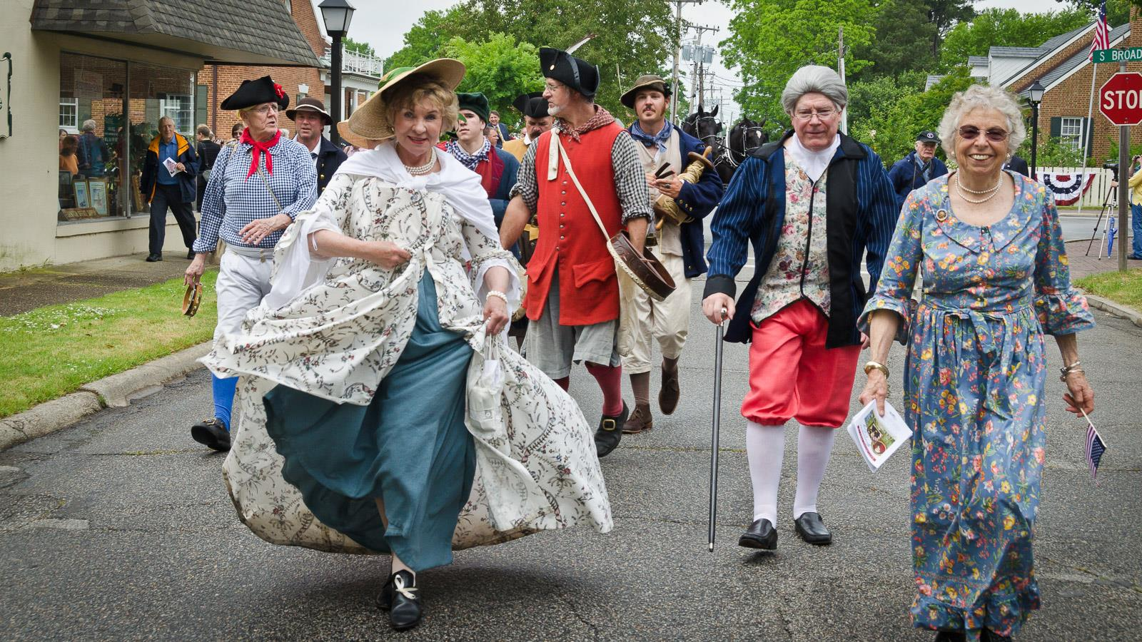 Colonial celebration, Edenton, North Carolina