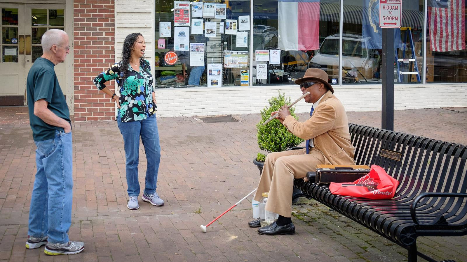 Street Musician, Edenton, North Carolina