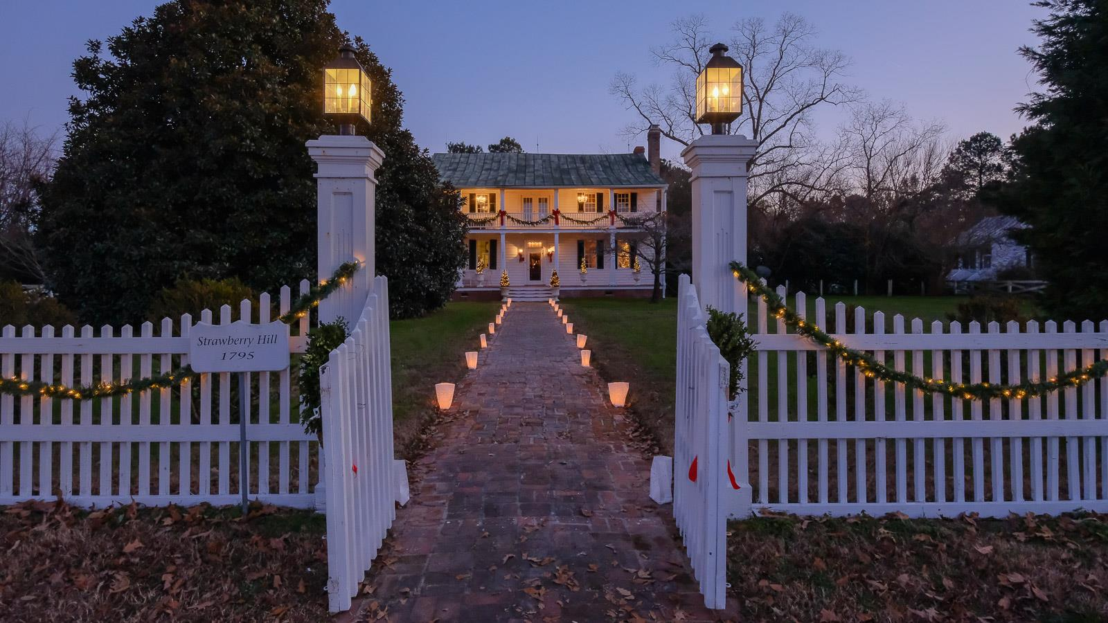 Candlelight Tour, Edenton, North Carolina