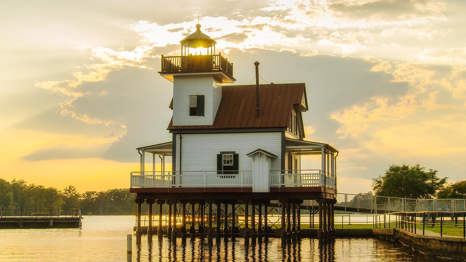 Roanoke River Lighthouse, Edenton NC